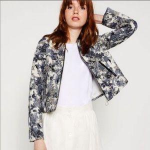 Zara floral jacket / blazer